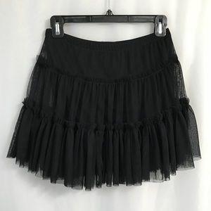 Dresses & Skirts - Black Tulle Mini Skirt